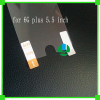 10pcs/lot For iphone6 5.5inch protection Gurd sticker Front Screen Protector Film free shipping