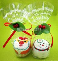 Christmas cake towel * Christmas * holiday gifts * Christmas gifts * Towel Santa Specials shipping