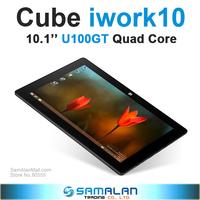 10.1'' Cube U100GT Quad Core Tablet PC Intel Atom Z23740D 1.33GHz 2GB 32GB 2.0MP Dual Cameras Windows 8.1 HDMI