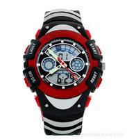 Hot men outdoor sport climbing dual display electronic watches multifunction Hot water diving watch