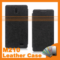 2014 Hot Sale PU Flip Leather Case For InFocus M210 4.7 inch Quad Core Android Smartphone