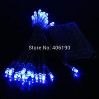 3m 300 LED Battery Light String Light Bright Christmas Wedding Decorative Light Free Shipping