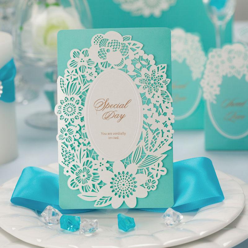 1 pcs corte a laser convites de casamento moda estilo europeu elegante decoração do casamento casamento criativo convite partido cartões(China (Mainland))