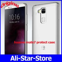 Original protect case For Original Huawei Ascend Mate 7 FDD 4G LTE Octa Core phone Metal Fuselage 6'' 1920x1080P 3G RAM