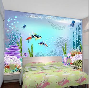 Online get cheap ocean wall murals for Latest 3d wallpaper for bedroom