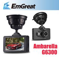 """Ambarella 3"""" LCD Car DVR Camera Recorder G6300 Full HD 1080P 170 Wide Angle G-sensor Night Vision Motion Detection Free Shipping"""