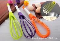 Whisk baking tool rotating agitator whisk green plastic food-grade storage 144pcs