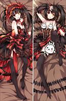 hot 150X50cm peach skin Anime Dakimakura pillow case -  YD009 date a live Kurumi Tokisaki