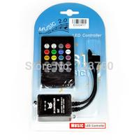 Music IR Controller 20 key Remote Sound Sensor For 3528 5050 RGB LED Strip Light