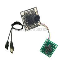 FPV HD 700TVL D-WDR 1/3'' Sony CCD 2.5mm Wide Angle Lens Mini CCTV Security Home Surveillance Tiny FPV PCB Board Camera OSD Menu