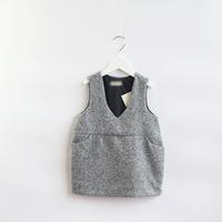 2014 New,girls woolen vest dress,children autumn dress,pocket,1-7 yrs,5 pcs/lot,wholesale,1837