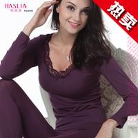 Free Shipping ! Women's winter clothing bamboo Long John john body Shaper Seamless thermal underwear suits shape wear jumpsuit