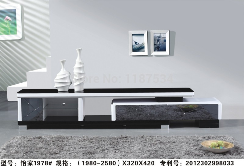 Shop popular tv tables design from china aliexpress for Table tv design