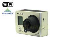 RD990 WIFI Copy Gopro Hero 3 Style Sport Camera Ambarella 1080p Action Camera Go Pro Camera  WIFI Free Shipping