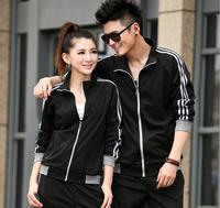 Korea design comfortable material famous brand women and men tracksuit outdoors sportswear sport suit,jogging suits wholesale