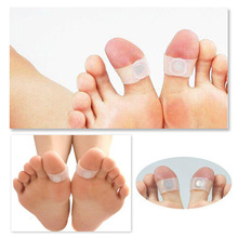 10Pairs Reduce weight Silicone Magnetic Fitness Slimming Loss Weight Body Toe Rings White