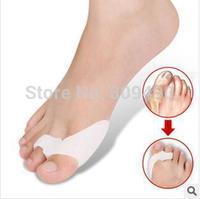 Qty 2 valgus pro gel bunion protector toe spreader gel toe sepatator bunion toe protector cushion pad valgus bunion regulator