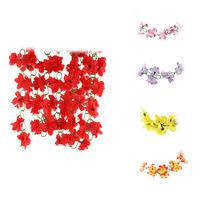 7.2Feet Artificial Fake Azalea Flowers Garland Plant Fake Decoration Multi Color   95611-95615