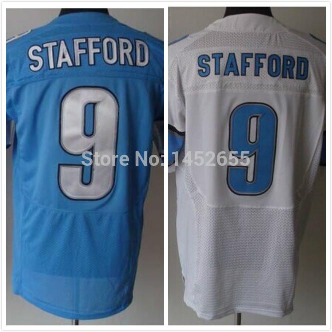 #9 Matthew Stafford Jersey,Elite Football Jersey,Best quality,Authentic Jersey,Size M L XL XXL XXXL,Accept Mix Orde(China (Mainland))