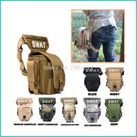 Go Pro Multifunctional Swat Waist Pack Leg Bag Tactical Outdoor Sports Waterproof Military Waist Bags for Gopro Hero & SJ4000