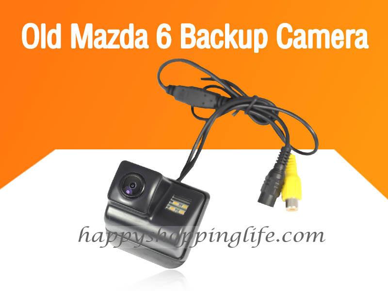 Car Rearview Camera for Mazda 6 2003 2007 2008 2013 CX-5 2011 CX-7 with Night Vision Waterproof - Mazda 6 Reverse Backup Camera(China (Mainland))