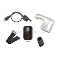 Promotion!!! Gopro Accessories Wifi Remote Control kit wireless remote+wrist belt for Gopro Hero3+ Hero3 HD Sport Cameras
