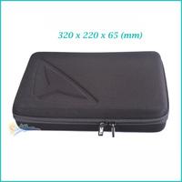 GoPro Hero 3 EVA Bag Large Collection Box Anti-shock Portable Camera Case for Go pro Hero3 3+ Camera Accessories 320X220X65(mm)