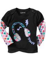 Wholesale black spring autumn cotton t shirt girl basic long sleeve t shirt 6pcs/Lot Free shipping