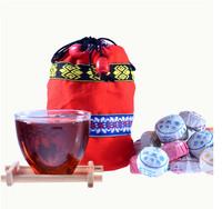 tea pu er tea Mixed Tea Puer Mini bowl Yunnan Special pu'er 250g (10 taste X 50pieces) Rich Aroma puer tea made in china food