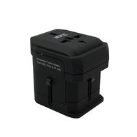 Universal multi-socket power converter abroad dedicated universal travel adapter Dual USB