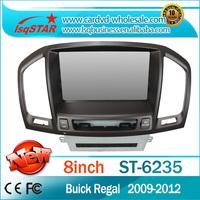Lsqstar Central multimedia gps car dvd for OPEL Insignia Buick Regal 2009-2012 with Steering Wheel Control 3G Radio RDS ATV