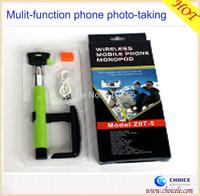 Mobile phone selfie holder, bluetooth monopod