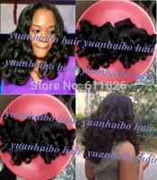 Aunty funmi hair boucny Grade 6A 3pcs #1b real brazilian virgin funmi human hair bouncy curl for black women free shipping