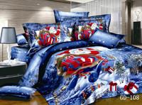 4pcs per set christmas beddings of christmas linens GD108