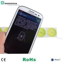 ISO15693 HF Label Sticker for Smartphone RFID Reader