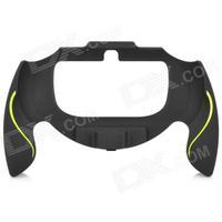 Plastic Gaming Plastic Hand Grip for PS Vita - Black + Yellow