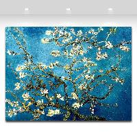 Blossoming Almond Tree By Van Gogh Oil Painting Printed On Canvas Home Art Decor
