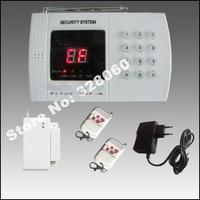 PSTN 99 zones Wireless Home Security Burglar Alarm System with Auto-dial