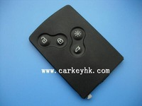Renault key Best quality Renault 4 buttons remote key  433MHZ 46 chip for renault logan key
