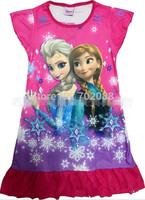New 2014 frozen dresses elsa girl dress for summer dresses girls Anna