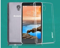 BEPAK Clear Case for Lenovo S860 Crystal Case For Lenovo S860 Transparent Hard Case with Screen Protector