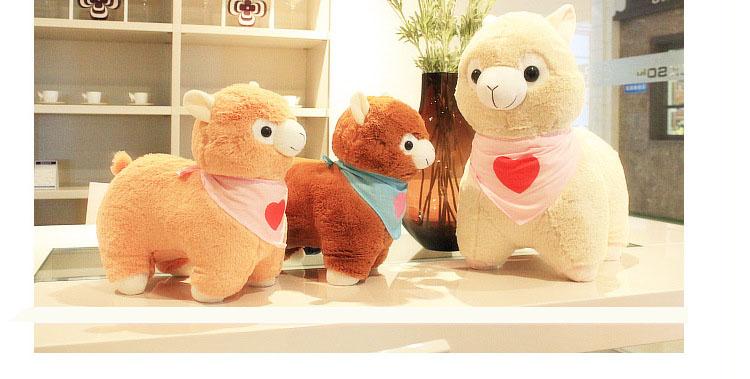 Free shipping arpakasso amuse plush toys doll Cute Arpakasso Alpaca plush toys Birthday gift alpacasso(China (Mainland))