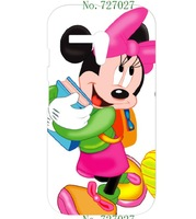 new cartoon hot Mickey Mouse style hard white case cover for Motorola Moto G 1pcs/lots + free shipping