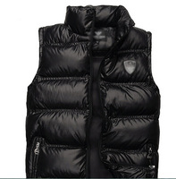 2014 Winter Men's down vest duck down vest with thick warm collar vest brand vest E-A-7 top quality free shipping