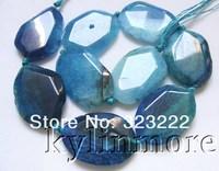"8SE09917a 35x27mm Fire Agate Beads  DIY 15.5"""