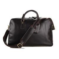 100% genuine leather Travel Bags upscale Italian leather totes men womens travel bag duffle bags luggage handbags