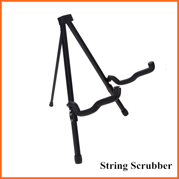 Foldable Guitar Stand Tripod A-frame Bracket with Bag for Guitar Bass Ukelele Easy Universal Space-saving Top Quality(China (Mainland))