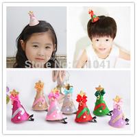 Free shipping 24PCS Christmas hair clips girls boutique hair clips kid Christmas gift hair accessories PC21