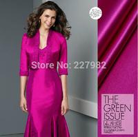 Neon rose - Korean original packaging Duke Satin 26 mommes tinggua ossein satin brocade silk cloth  for coat and dress