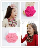 Wholesale 14pcs kids accessories children, girls hair ornaments hair bands hair clips flower hairpin k041